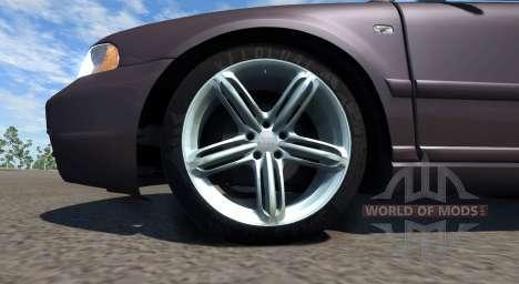 Audi S4 2000 [Pantone Black 5 C] para BeamNG Drive