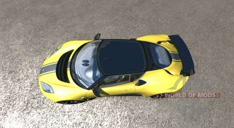 Lotus Evora GTE 2011 [Yellow] para BeamNG Drive