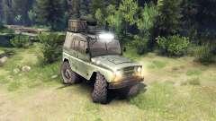 El UAZ-469 vehículo
