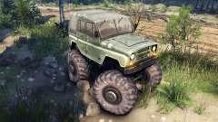 УАЗ-469 Monster Truck v2