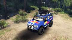 Jeep Grand Cherokee WJ Red Bull para Spin Tires