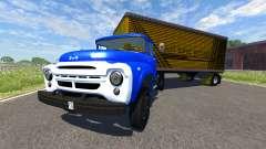 ZIL-V con semi carruaje de Acero