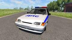 VAZ-2115 de la Policía