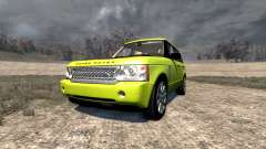 Range Rover Supercharged 2008 [Yellow]