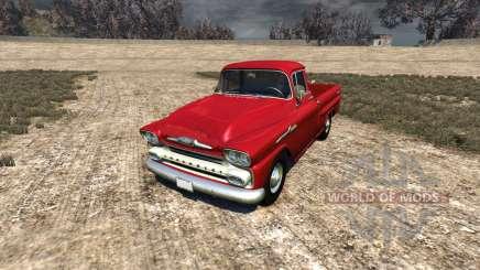 Chevrolet Apache 1958 Fleetside para BeamNG Drive