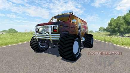 Ford E-250 Monster para BeamNG Drive