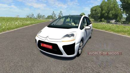 Citroen C4 Picasso para BeamNG Drive