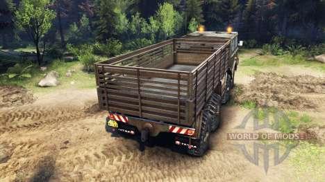 Tatra 813 8x8 KOLOS para Spin Tires