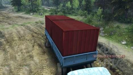 El Trailer ODS-885 para Spin Tires