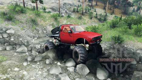 Toyota Hilux Truggy v0.9.9 para Spin Tires