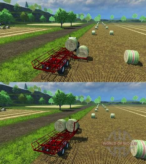 La recogida de la ronda de balas para Farming Simulator 2013