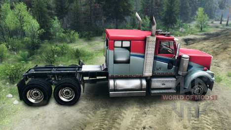 Western Star 4900 LowMax para Spin Tires