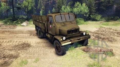 Praga V3S para Spin Tires
