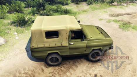 UAZ-3907 para Spin Tires