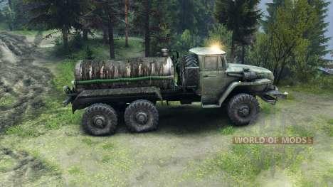 Camión cisterna para Spin Tires