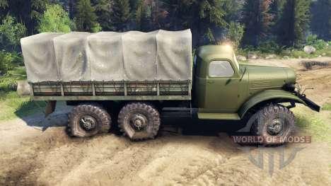 ZIL-157K para Spin Tires