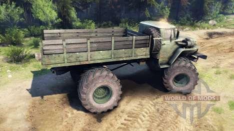 Ural-4320 Explorador Polar v1.1 para Spin Tires