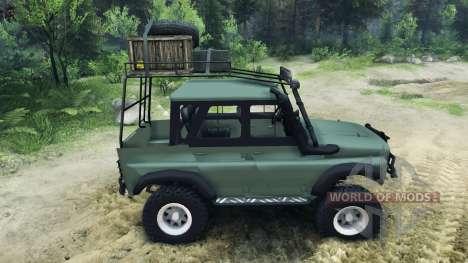 UAZ-G para Spin Tires