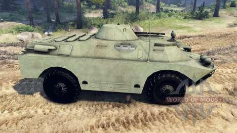 BRDM-2 para Spin Tires