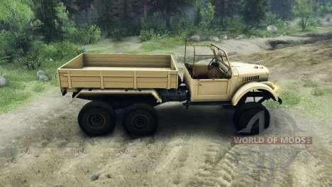 UAZ-456 para Spin Tires