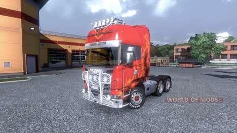 Interior para Scania -Playa- para Euro Truck Simulator 2