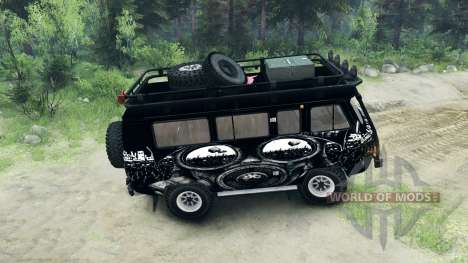 UAZ-3909 off-road v3.0 para Spin Tires