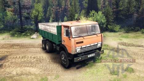 KamAZ-55102 para Spin Tires