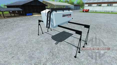 Tanque de Lomma TX 118 para Farming Simulator 2013