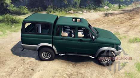 UAZ-23632 para Spin Tires