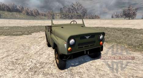 El UAZ-469 para BeamNG Drive