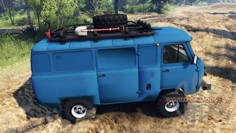 UAZ-452 para Spin Tires