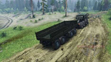 Luego autotrailers v3 para Spin Tires