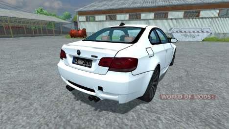 BMW M3 para Farming Simulator 2013