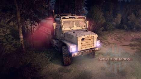 Oshkosh MTVR 8x8 PLS-LHS para Spin Tires