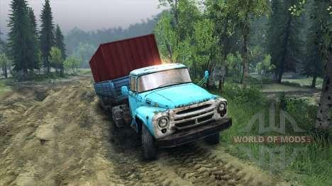 El trailer ODS-885 v2.2 para Spin Tires