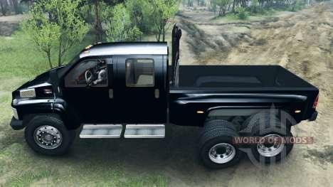 GMC C4500 TopKick 6x6 para Spin Tires