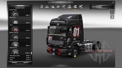 Accesorios al aire libre para Euro Truck Simulator 2