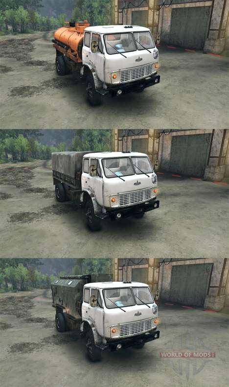 MAZ-509 para Spin Tires