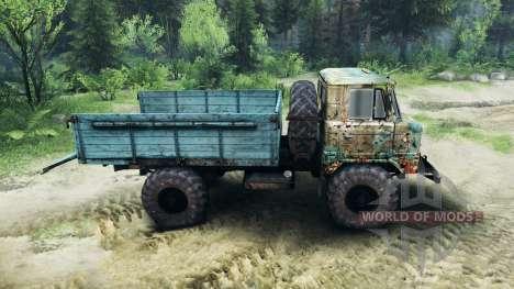 GAZ-66 v1.1 para Spin Tires