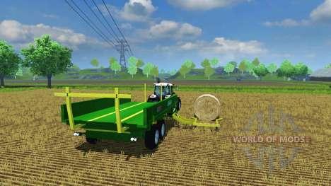 Dolly Sipma WS 6510 Dromader v1.1 para Farming Simulator 2013