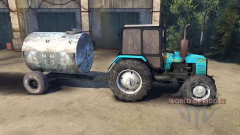 MTZ-1221 Bielorrusia para Spin Tires