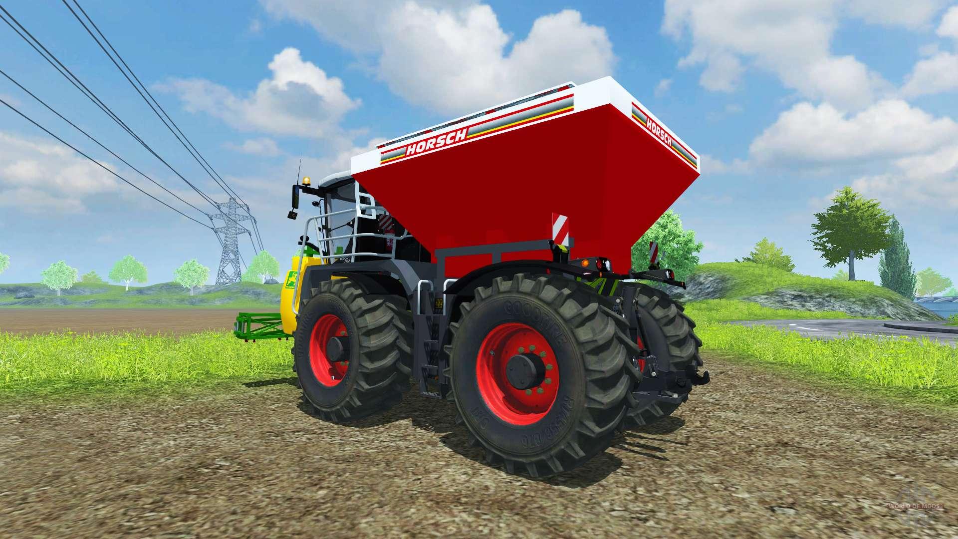 tanque de horsch para farming simulator 2013 está diseñado para el
