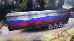 Semirremolque Rusia