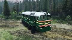La Locomotora Diésel De La M62