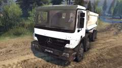 Mercedes-Benz Actros Tipper