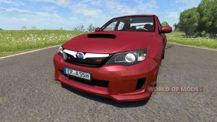 Subaru Impreza WRX STI 2011 para BeamNG Drive