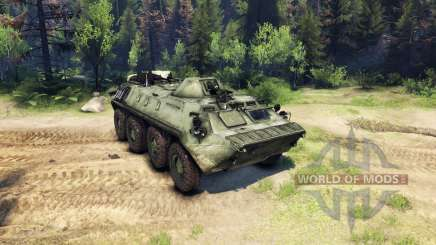 El BTR-70 para Spin Tires