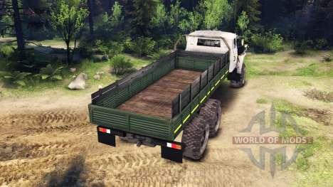 Ural-4320-0911-30 v2.0 para Spin Tires