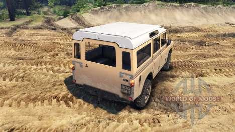 Land Rover Defender Sand para Spin Tires