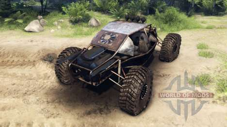 The Raakry v1.1 rusty para Spin Tires